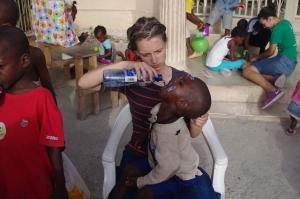 Showing Love in Haiti