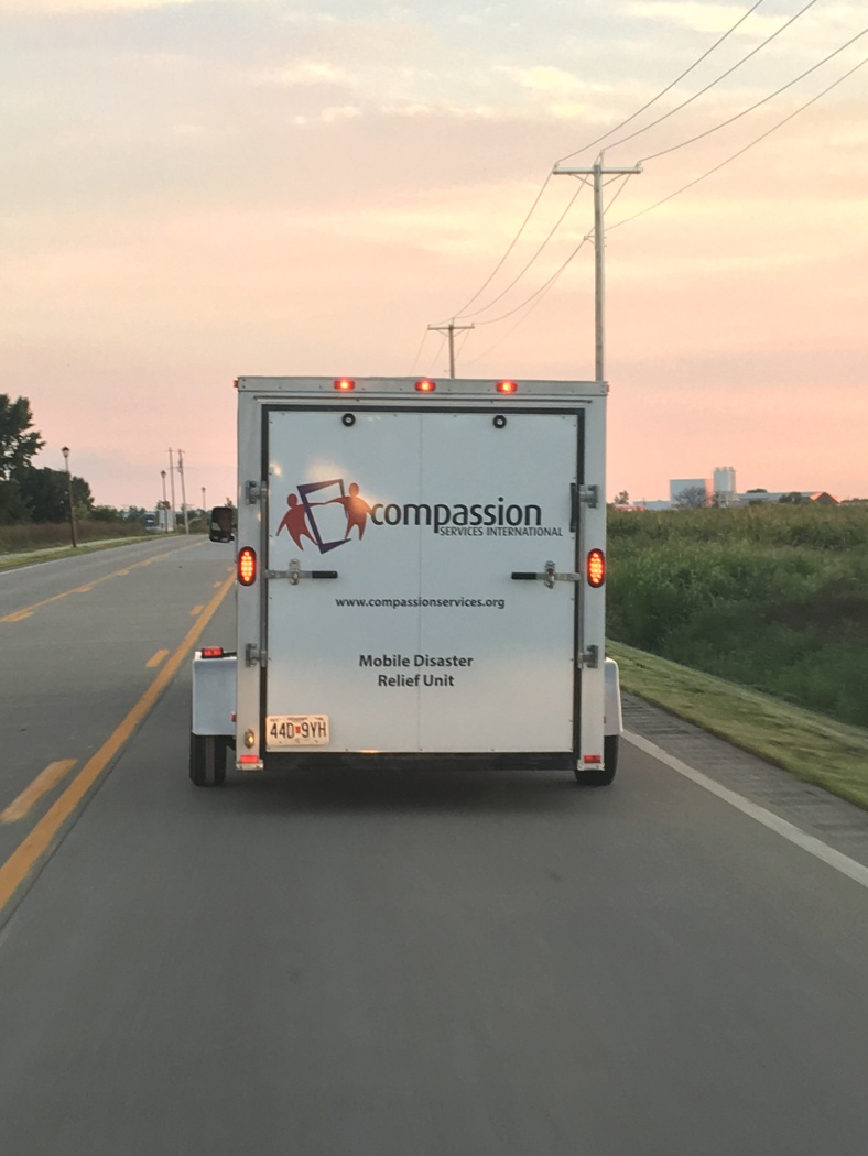 CSI Trailer leaving for LA