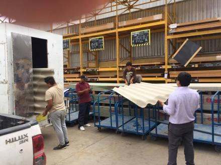 peru flood 2017 roofing materials