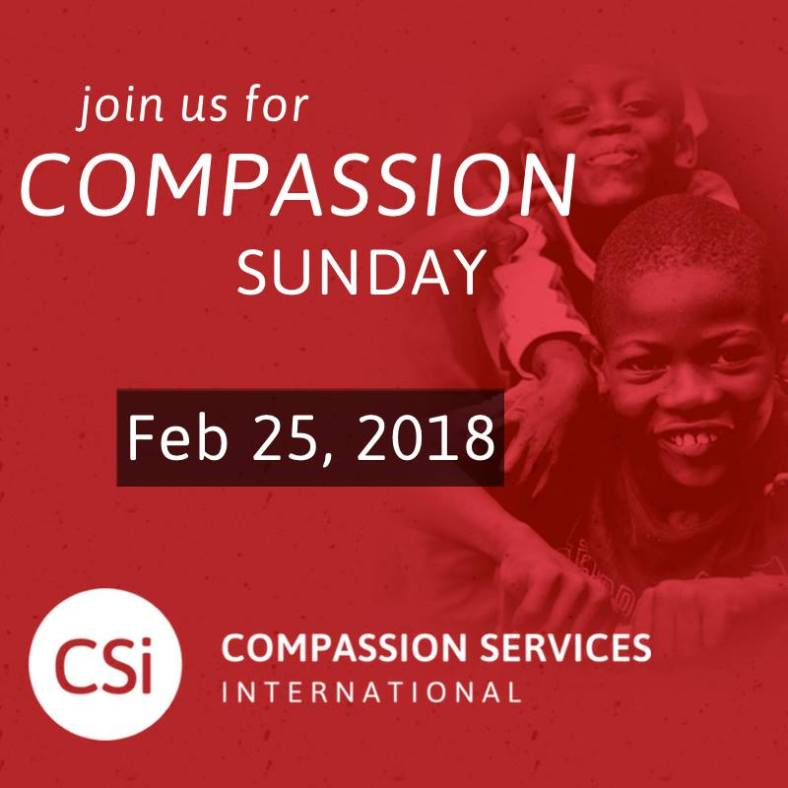 compassion sunday 2018
