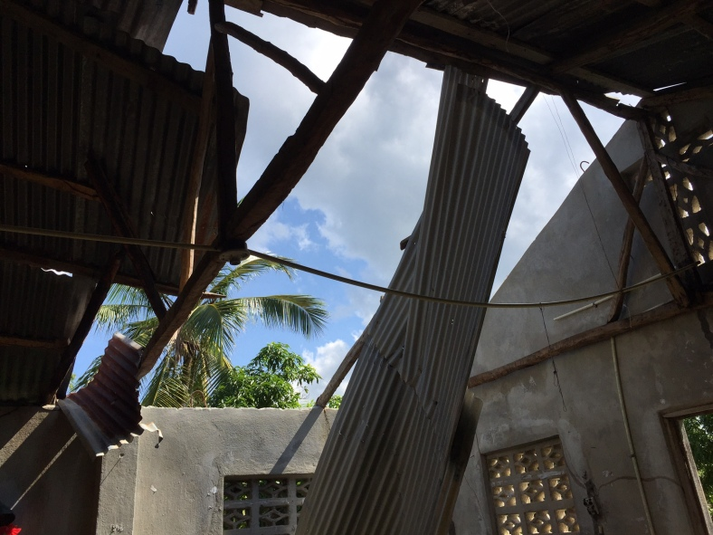 Miragoane Haiti Church Damage Hurricane Matthew