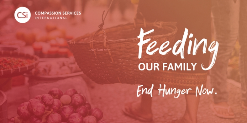 feeding our family banner heading