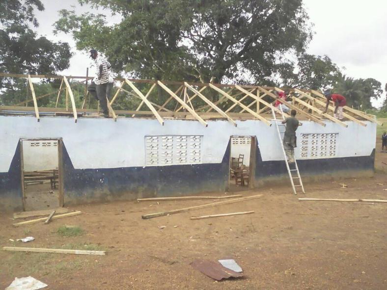 liberia kindergarten roof repairs 2018 2