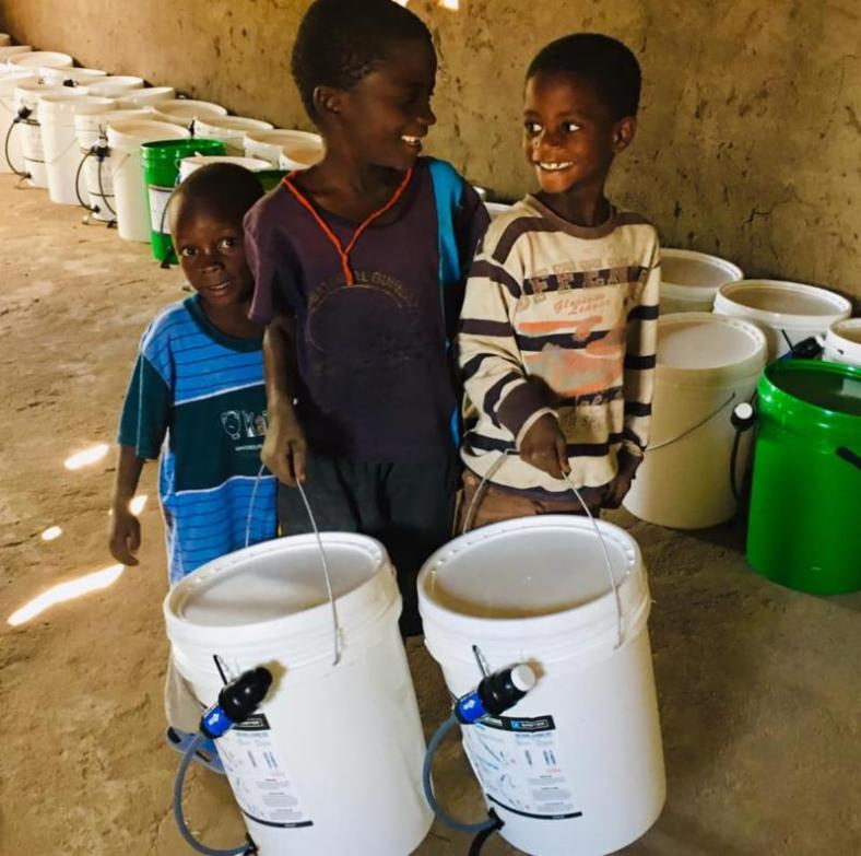 Malawi Relief Cyclone Idai Water Filters